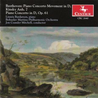 Beethoven, L. Van: Piano Concertos - Op. 61A, Anh. 7