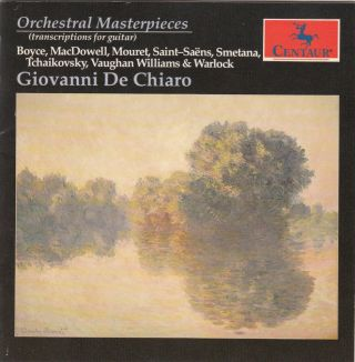 Orchestral Masterpieces: Transcriptions for Guitar by Giovanni De Chiaro
