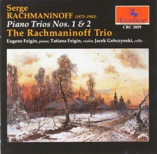 Rachmaninov, S.: Trios Elegiaques Nos. 1 and 2 (The Rachmaninoff Trio)