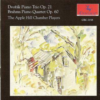 Dvorak, A.: Piano Trio No. 1 / Brahms, J.: Piano Quartet No. 3