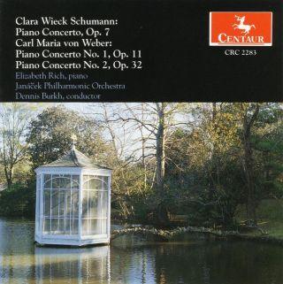 Schumann, C.: Piano Concerto in A Minor / Weber, C.M.: Piano Concertos Nos. 1 and 2