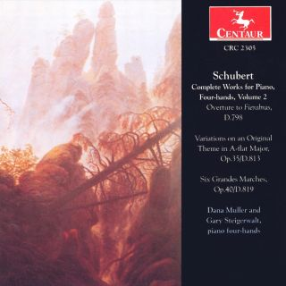 Schubert, F.: Piano Music, 4-Hands (Complete), Vol. 2