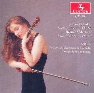 Kvandal, J.: Violin Concerto, Op. 52 / Soderlind, R.: Violin Concerto, Op. 46