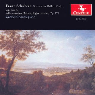 Schubert, F.: Piano Sonata No. 21 / 12 Deutsche (Landler) / Allegretto in C Minor