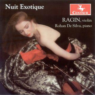 Violin Recital: Ragin, Wenk-Wolff – Monti, V. / Brahms, J. / Hubay, J. / Sarasate, P. De / Falla, M. De / Vladigerov, P.