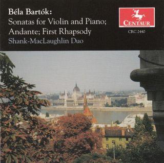Bartók: Sonatas for Violin and Piano - Andante - First Rhapsody