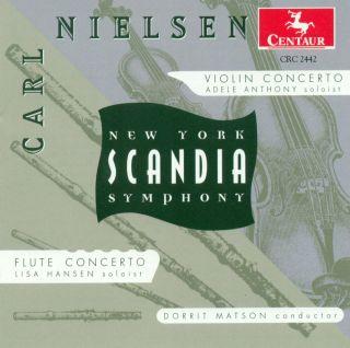 Nielsen, C.: Violin Concerto, Op. 33 / Flute Concerto
