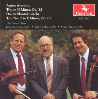 Arensky: Trio in D Minor, Op. 32 - Shostakovitch: Trio No. 2 in E Minor, Op. 67