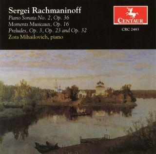 Rachmaninov, S.: Moments Musicaux / Piano Sonata No. 2 / Preludes