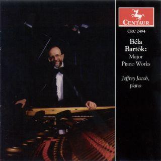 Bartok, B.: Improvisations / Out of Doors / 15 Hungarian Peasant Songs / Piano Sonata / Suite