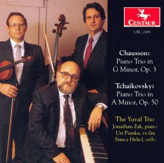 Chausson, E.: Piano Trio, Op. 3 / Tchaikovksy, P.I.: Piano Trio, Op. 50