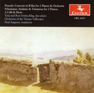 Dussek, J.L.: Concerto for 2 Pianos in B Flat Major / Schumann, R.: Andante and Variations