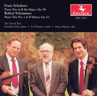 Schubert, F.: Piano Trio No. 1 / Schumann, R.: Piano Trio No. 1