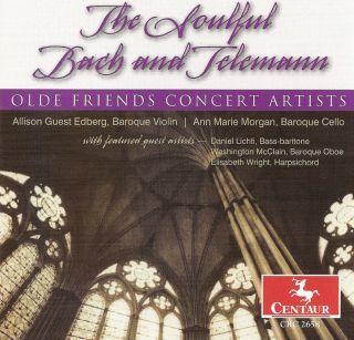 Telemann, G.P.: Oboe Sonata, Twv 42:G5 / Fantasies Nos. 4 and 6 / Bach, J.S.: Der Friede Sei Mit Dir