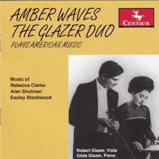 Amber Waves: The Glazer Duo Plays American Music