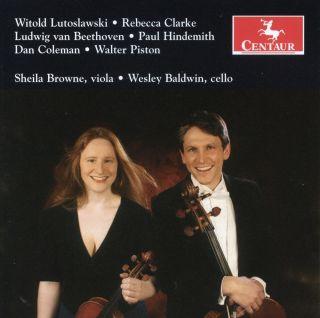 Lutoslawski: Bukoliki - Clarke: Lullaby and Grotesque - Piston: Duo