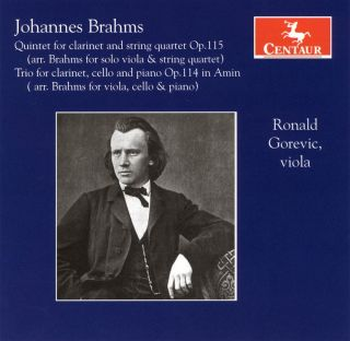 Brahms: Quintet for Clarinet and String Quartet, Op. 115 / Trio for Viola, Cello and Piano, Op. 114