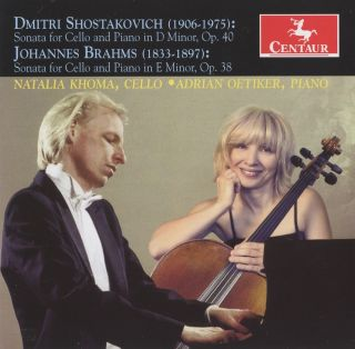 Shostakovich & Brahms: Cello Sonatas