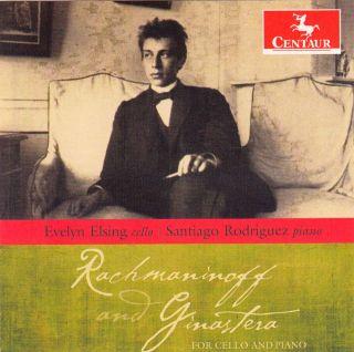 Rachmaninov & Ginastera for Cello & Piano