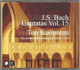 Complete Bach Cantatas Vol. 15