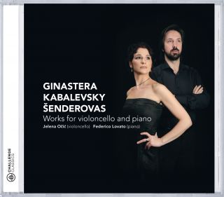 Ginastera, Kabalewsky and Šenderovas - Works for violoncello and piano