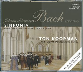 Sinfonia - Instrumentale delen uit de cantates