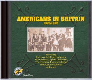 Americans In Britain 1920-1925