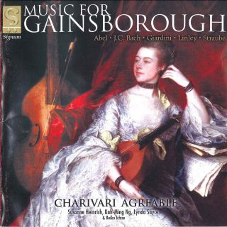 Music for Gainsborough by his contemporaries