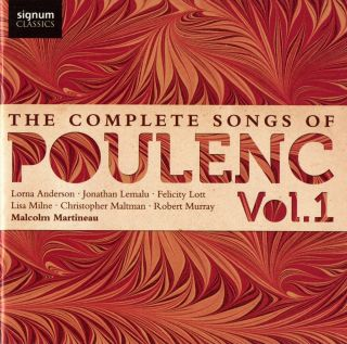 Complete Songs of Poulenc - Vol.1