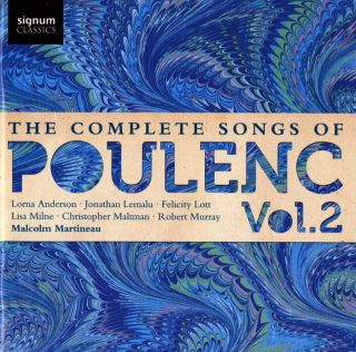 Complete Songs of Poulenc - Vol.2