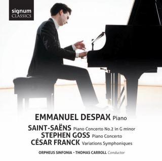Saint-Saëns - Goss - Franck: Piano Works