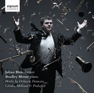 Works by Debussy, Milhaud, Glinka, Francaix & Prokofiev