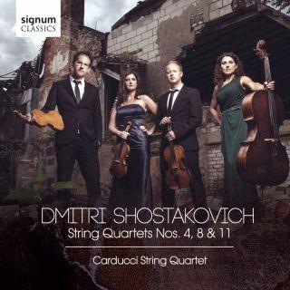 Shostakovich: String Quartets Nos. 4, 8 & 11