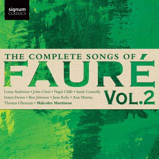 The Complete Songs of Faure, Vol. 2