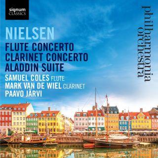 Flute Concerto, Clarinet Concerto, Aladdin Suite