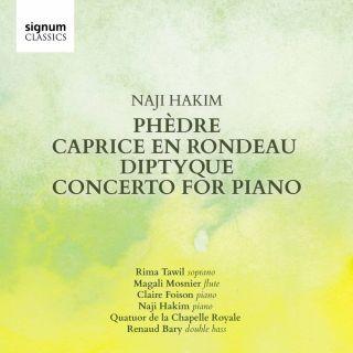 Phèdre, Caprice en Rondeau, Diptyque, Concerto for Piano