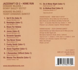 Jazzcraft Studio Recordings 1978-1979