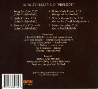 John Stubblefield -