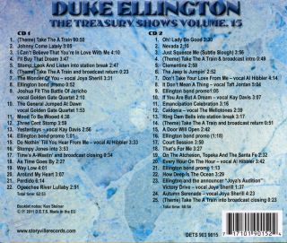The Treasury Shows - Duke Ellington and Orchestra