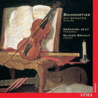 Boismortier: Six sonatas, op. 51