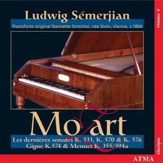 Mozart: Piano sonatas vol. VI