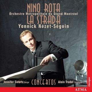 La Strada,Trombone concerto,Harp concerto