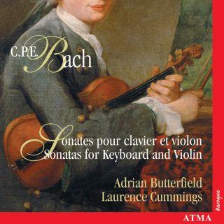 CPE Bach: Violin sonatas