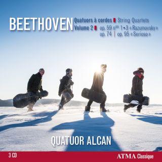 Beethoven: String Quartets Vol 2