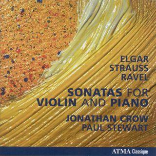 Elgar, Ravel, R Strauss Violin sonatas