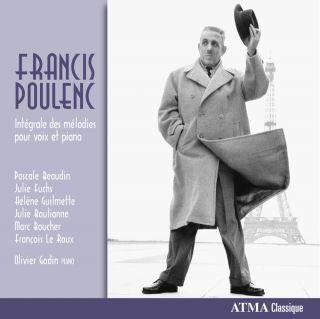 Poulenc: Intégrale des mélodies pour voix et piano
