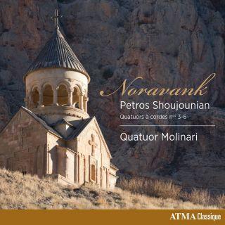 Novarank • String Quartets Nos 3-6