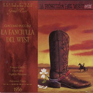 La Fanciulla Del West (milan 1956)