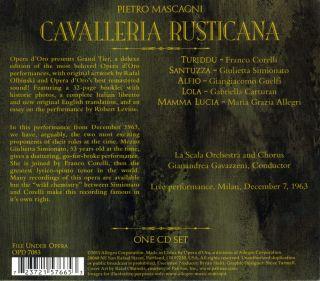 Cavalleria Rusticana - Milano 1963