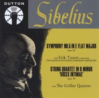 Sibelius - DSRSO / Erik Tuxen & The Griller Quartet